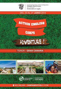 Campamento Intercolegial Colegio Dominicas Action English Camps